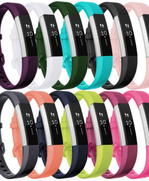 Fitbit Alta HR Strap, Adjustable Replacement Sport Wristband