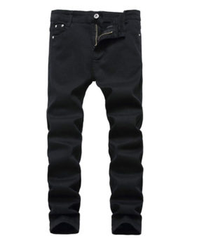 Boy's Skinny Fit Stretch Fashionable Jeans Pants