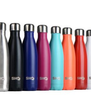 Double Walled Stainless Steel Vacuum Flask Water Bottle