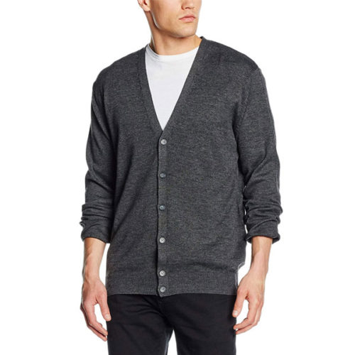 Henbury-Mens-V-Lightweight-Cardigan