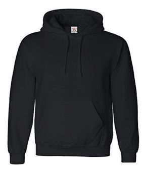 Plain Pullover Hoody Hooded Top Hoodie for Mens
