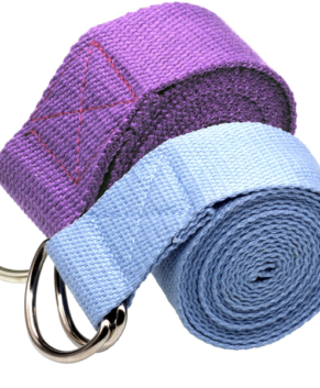Yoga Belt Strap For Fitness Flexibility Exercise Stretching