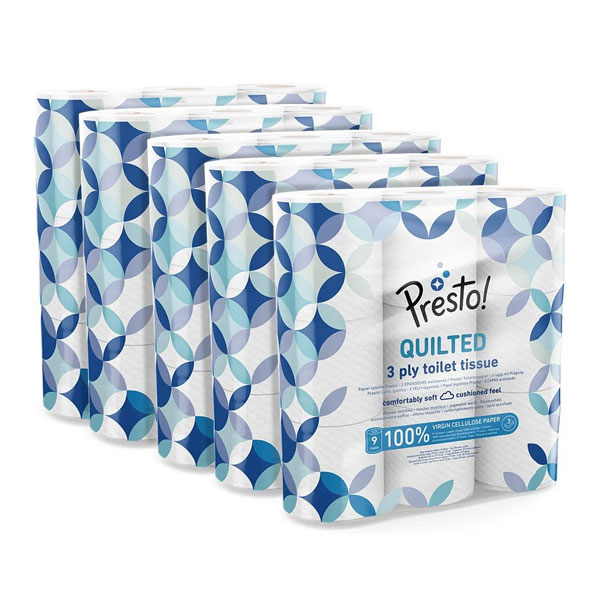 3-Ply Quilted Toilet Tissues