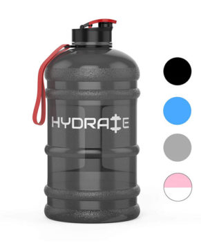 2.2 Litre Water Bottle, Drink Cap- Durable & Extra Strong