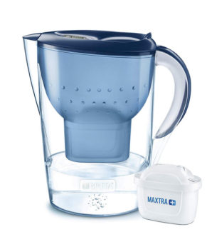 BRITA Marella XL Water Filter Jug Maxtra+, Blue