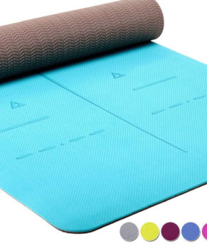 Eco Friendly Thick TPE Textured, Non-Slip Extra Large Yoga Mat