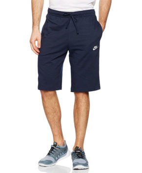 Nike Mens' Cotton Knee Length Club Shorts