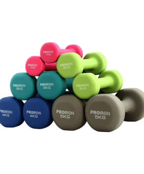 Neoprene Dumbbell Weights Home Gym Exercise