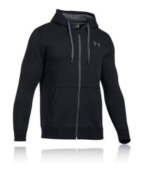 Rival Fitted Full Zip Men's Warm-up Top Hoodie