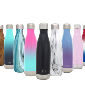 Wave Water Bottle- Vacuum Insulated Double-Walled