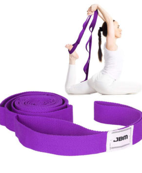 Stretching Exercise Strap Yoga Strap with 10 Flexible Loops