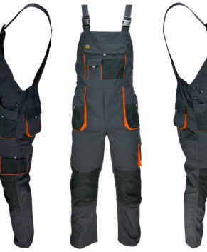 Work Bib and Brace Overalls Dungaree, Multi Pockets