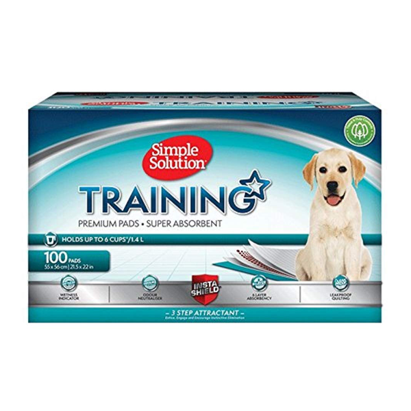 Premium Dog and Puppy Training Pads, Pack of 100
