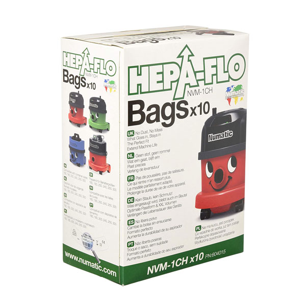 Henry Cleaner Bags - 1 Box (Pack of 10)