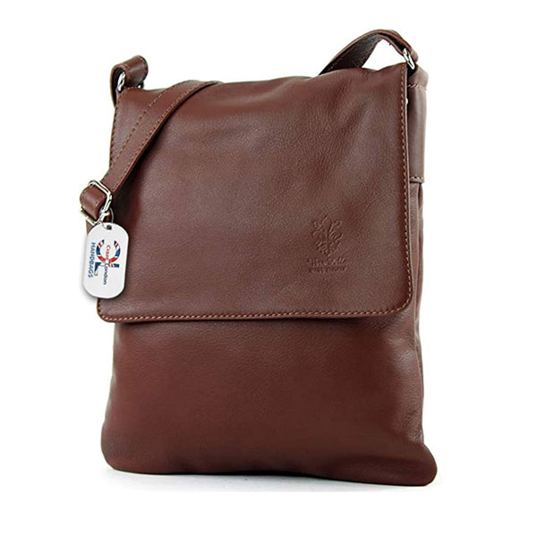 Women Mini Genuine Italian Soft Leather Cross body Bag